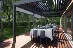 Pérgola bioclimática Opera , para restaurantes o bares