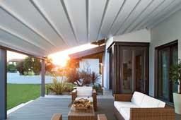 Pèrgola d'alumin per la terrassa