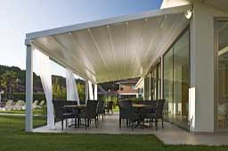 Pérgola de aluminio para la terraza o jardín