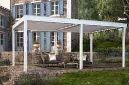 Pérgola bioclimática Vision , para disfrutar de la terraza