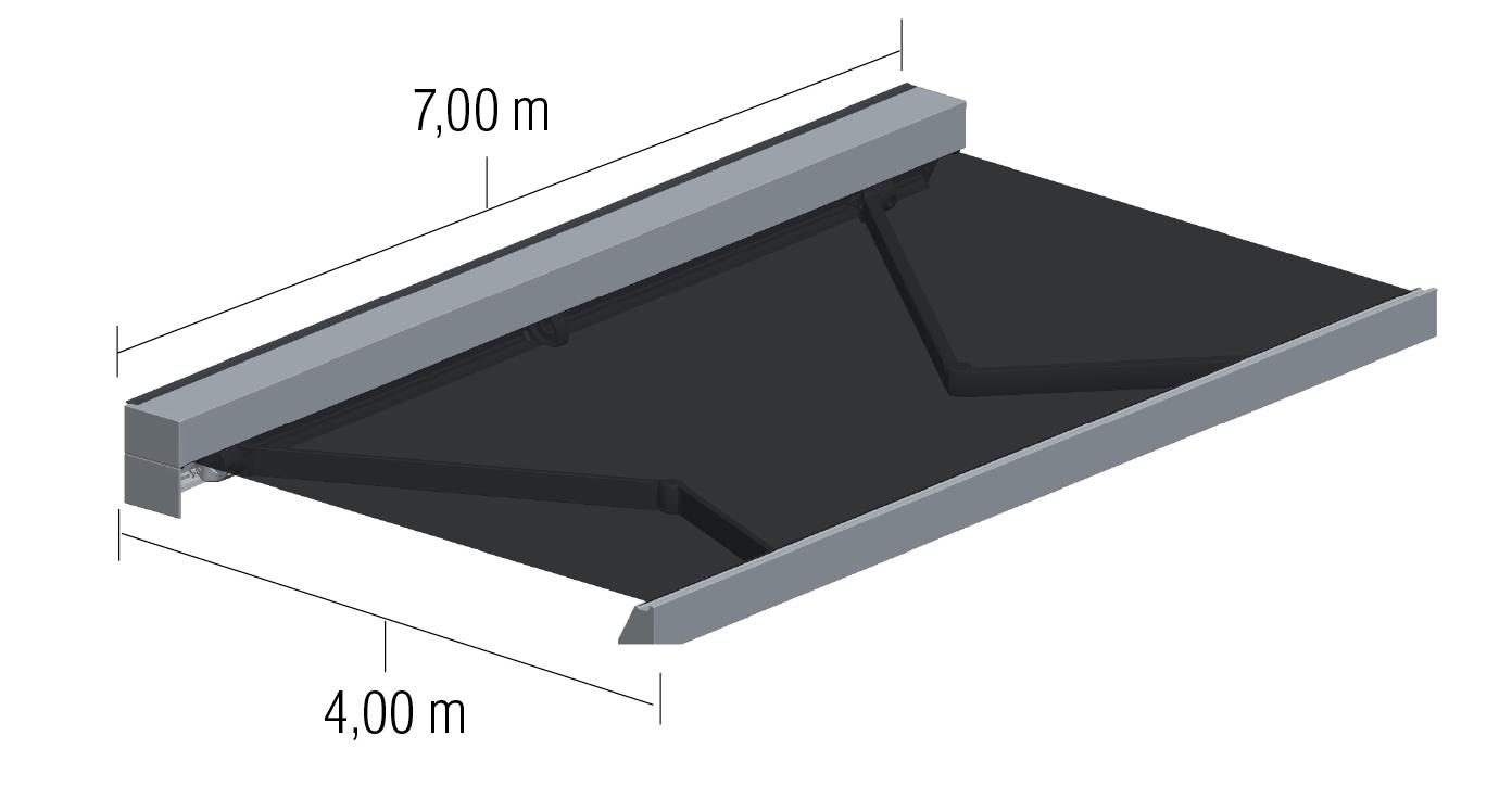 Dimensiones Cofre rectangular