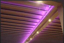 Pèrgola Bioclimàtica camb llum LED