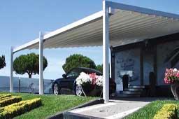 Pérgola de aluminio , un espacio abierto al aire libre