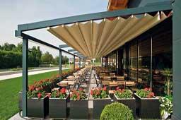 Pèrgola d'alumini per el jardí o la terrassa
